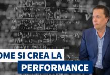 Come si crea la performance